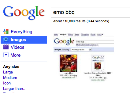 emo bbq paradox