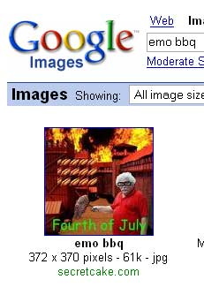 Number One on Google for EMO BBQ!