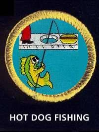 hot dog fishing